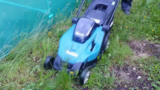 Review of Makita DLM431z lithium battery lawnmower