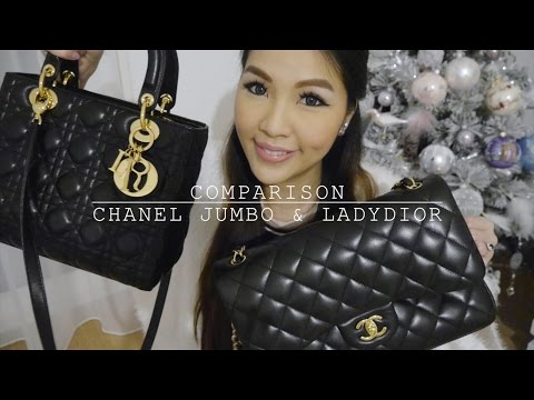 4dc6d26e641e Requested  Comparison between Chanel Jumbo   Ladydior♥