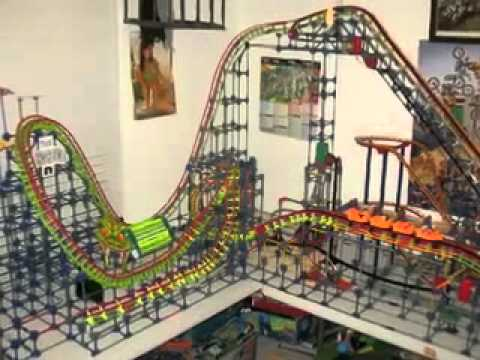 The Turnaround a K'nex rollercoaster