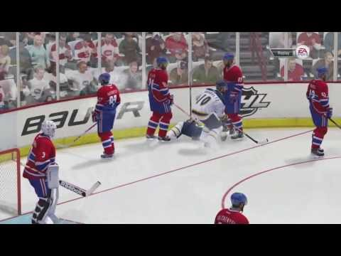 NHL 14 Bloopers #2 (Fight Win?)