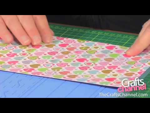 HOW TO MAKE A GIFT BOX FROM A SINGLE SHEET OF CARD | PAPERCRAFT TUTORIAL