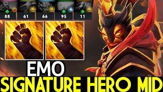IG.EMO [Ember Spirit] Signature Hero VS Disable Team Crazy Game Dota 2