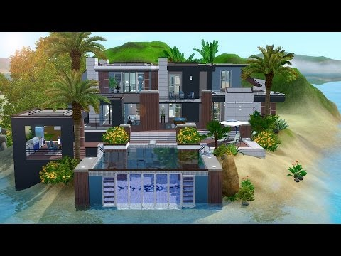 The Sims 3 - House Building - Paradise Getaway (W/JulyKapo)