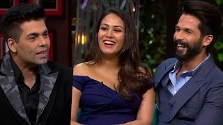 Koffee with Karan Season 5 | SEX confession of Shahid Kapoor - Mira Rajput will SHOCK you