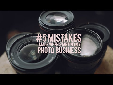 5 Mistakes I Made When I Started My Photography Business | Tips & Tricks