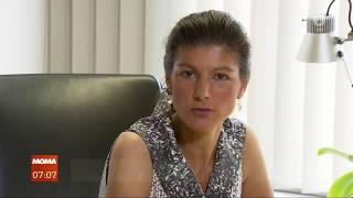 """Sahra Wagenknecht und die Plattform """"Aufstehen!"""" - Chance oder Risiko?"""