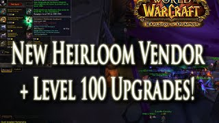 Wod New Level 100 Heirlooms Their Vendor Location