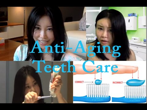 Anti-Aging Teeth Care, how to keep your teeth clean, white and bright!