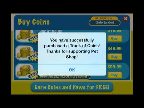 How to hack pet shop