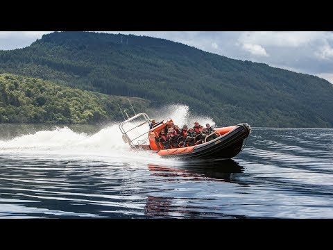 What It's Like To Ride A Speedboat On Loch Ness!