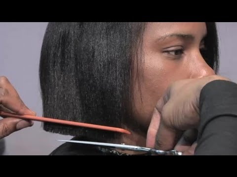 How to Cut a Short Bob-Style Hair Cut : Hair Care & Styling Advice