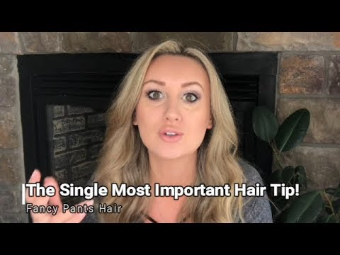 Best Thing You Can Do For Your Hair (Pro-Tip)