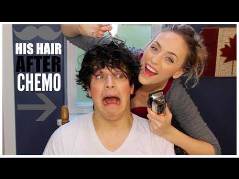 From Bald After Chemo, To BIG Hair! | WATCH ME PLAY WITH & CHOP OFF MY HUSBANDS HAIR!!!