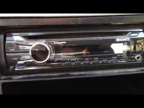Sony Car Stereo makes annoying beep when ignition turned off