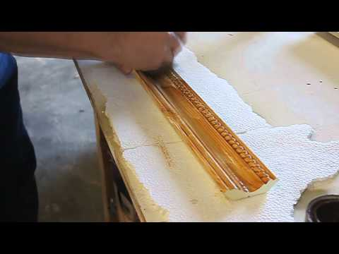 Staining Molding