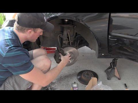 Corolla Brake Pad and Rotor Swap