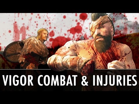 Skyrim Mod: Vigor - Combat & Injuries