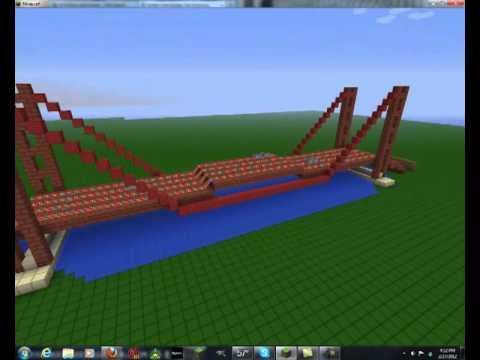 McTriiPPin-Minecraft-Golden Gate Bridge