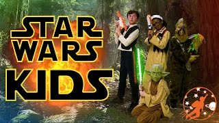 Star Wars Kids 7 - Han Solo, Chewbacca and Yoda vs Shrink Gun