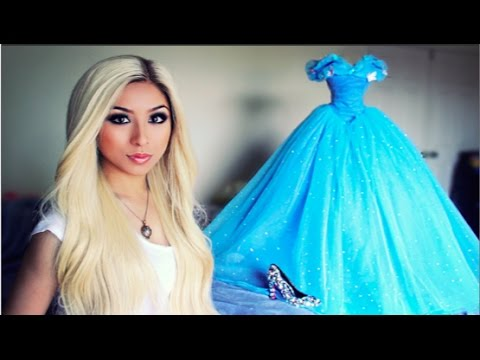ALL ABOUT MY CINDERELLA PROM DRESS !
