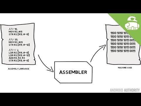 Assembly language and machine code - Gary explains!