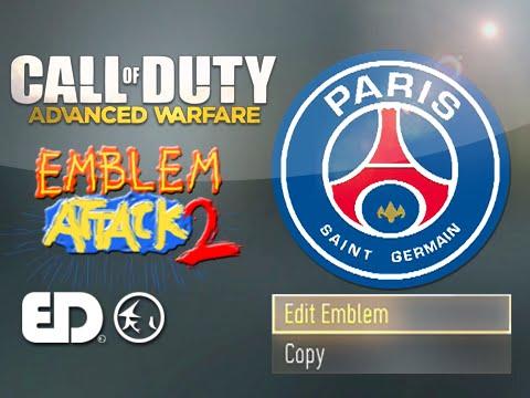 Advanced Warfare Emblem: PSG - Paris Saint-Germain F.C. (Emblem Attack 2)