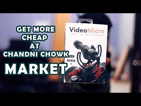 Vlogging Mic Purchased From Chandni Chowk Market | RODE VideoMicro Unboxing |