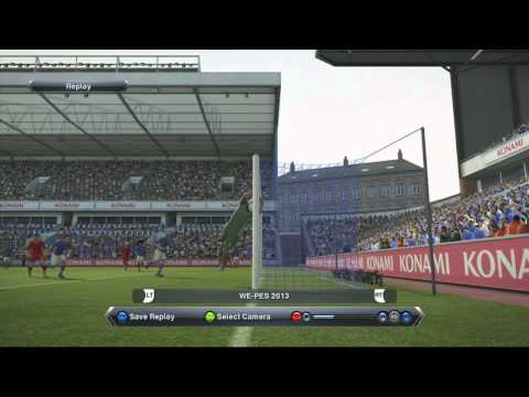 Pes 2013 Master League Let's Play - Part 4 - Everton v Liverpool