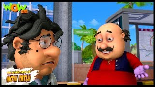 Motu Patlu New Episode | Cartoons | Kids TV Shows | John The Power Snatcher | Wow Kidz