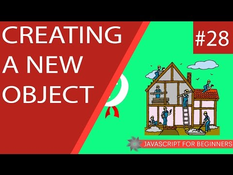 JavaScript Tutorial For Beginners #28 - Creating a new JavaScript Object