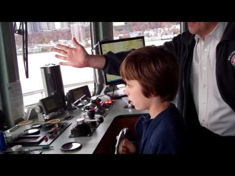 Boat Driver in Training