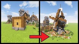 Minecraft Tutorial ▻ How to Transform a Minecraft Village