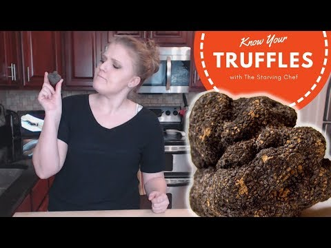 WHAT IS A BLACK TRUFFLE ANYWAY?   Know Your Food   The Starving Chef