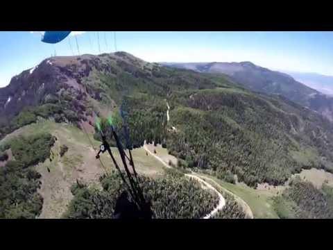 Paragliding Monroe Peak, Richfield, Utah, Gleitschirmfliegen USA 2016