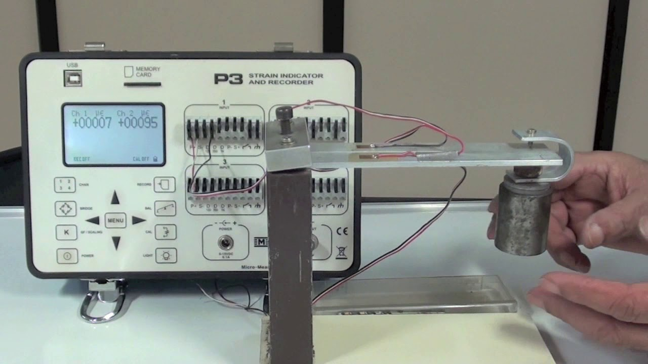 Strain gage Temperature Compensation with Dummy gage