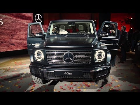 2019 Mercedes Benz G Class-Detroit Auto Show-Mercedes dRIVING Test