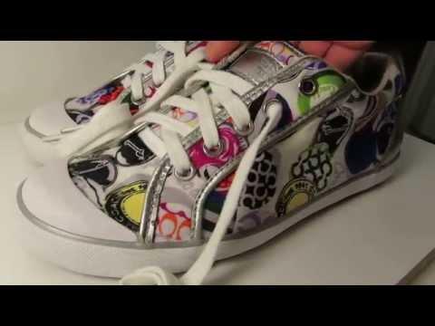 Coach Barrett Multicolor Sneakers Size 8B - Very Clean for sale on ebay