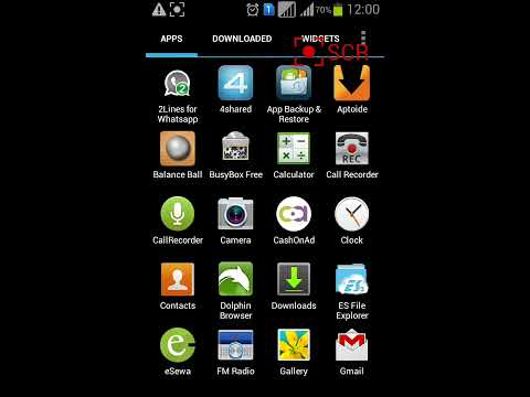 Record Calls in GALAXY S DUOS GT-S7562