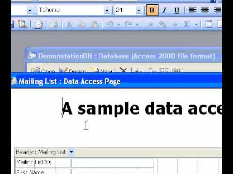 Microsoft Office Access 2003 Add or remove scroll bars for a text box on a data access page