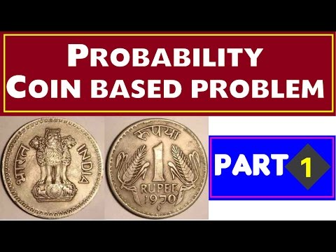 Probability Coin Based Problem - 1 (For SSC , SBI , IBPS  and Other Govt exams )