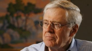 Billionaire Charles Koch on fighting in the political arena