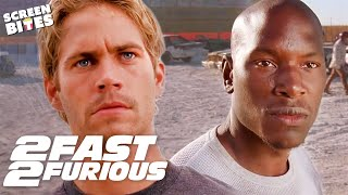 Brian and Roman Best Moments | 2 Fast 2 Furious | SceneScreen