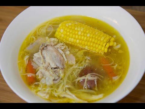 Cuban Chicken Noodle Soup - Sopa de Pollo - Cooked by Julie Episode 218
