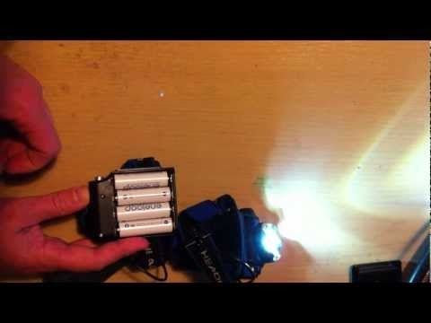 CREE XML T6 1200 Lumens LED Zoomable HeadLight HeadLamp Head Torch Adjustable - eBay