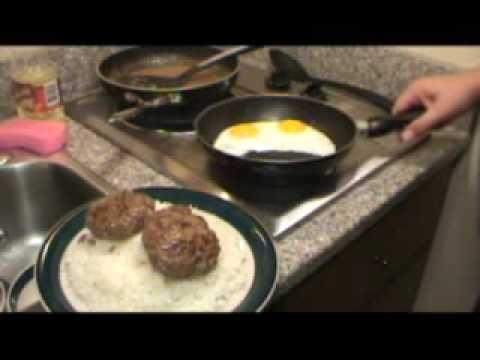 Loco Moco Hawaiian Hamburger Steak