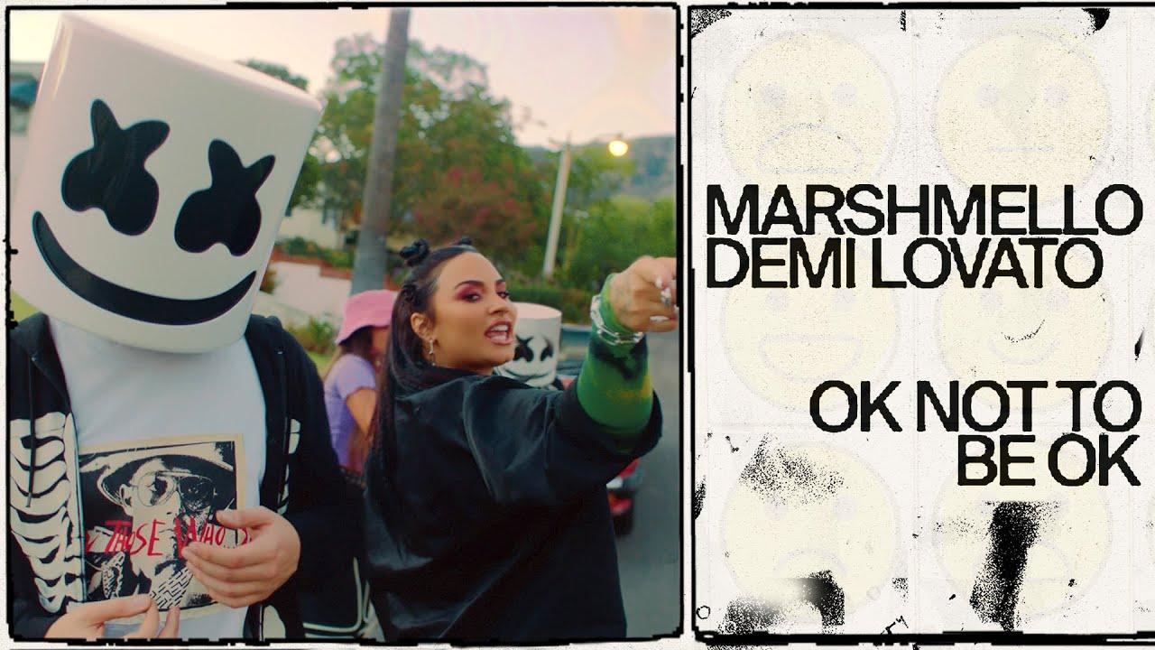 Marshmello & Demi Lovato - OK Not To Be OK (Official Music Video)