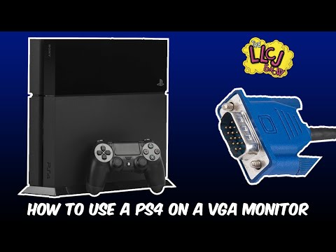 How To Use Your PlayStation 4 On A VGA Monitor
