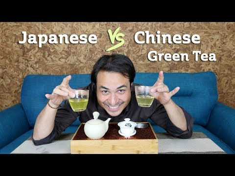 Differences between Japanese & Chinese Green Tea