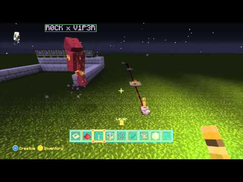How to build an automatic wheat farm in Minecraft xbox 360 Edition