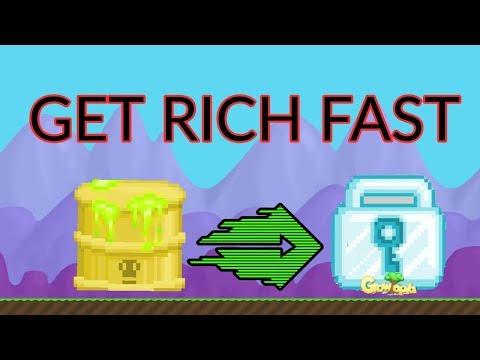 Growtopia|Get Rich Fast(TOXIC BARREL PROFIT)